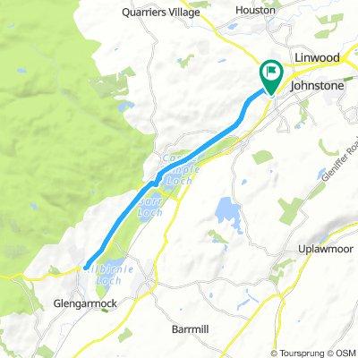Snail-Like Morning Route In Johnstone