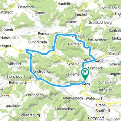 Sonntags rund um Rudolstadt