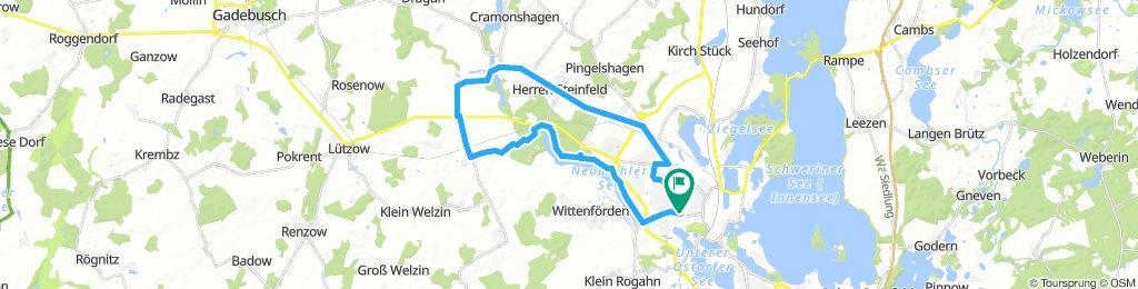 Schwerin-Rundtour: Nord-West-Umland
