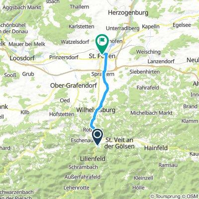 Ybbs 3nap (Melkig 40km)
