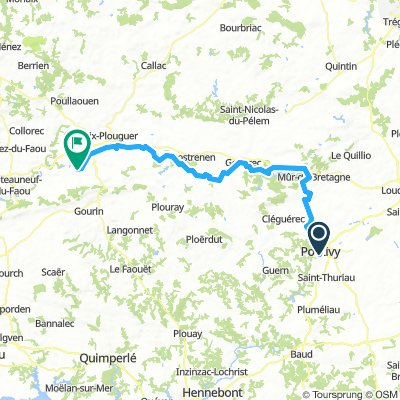 03 Pontivy-Saint Hernin 88km
