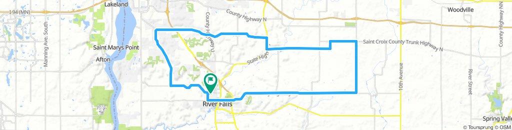 37 mile bike River falls