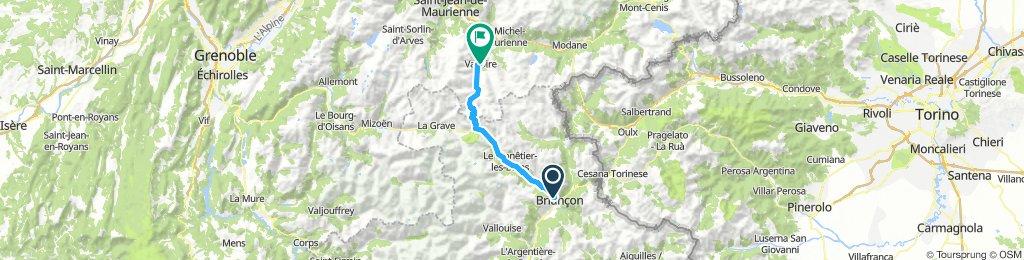 Col du Galibier via the old road