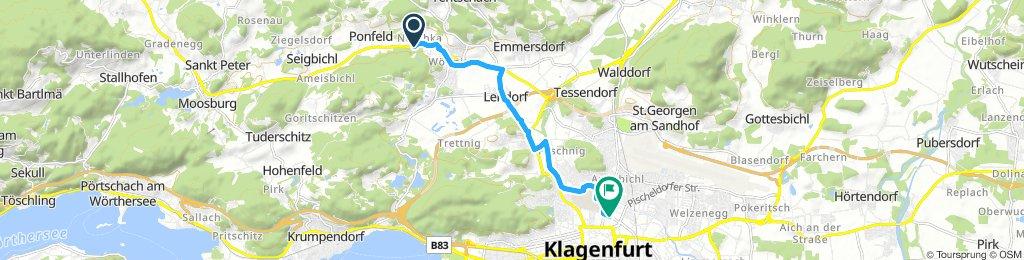 Long Sonntag Track In Klagenfurt Am Wörthersee