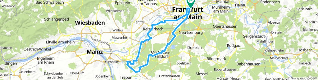 Vom Nordend zur Opel-Rennstrecke