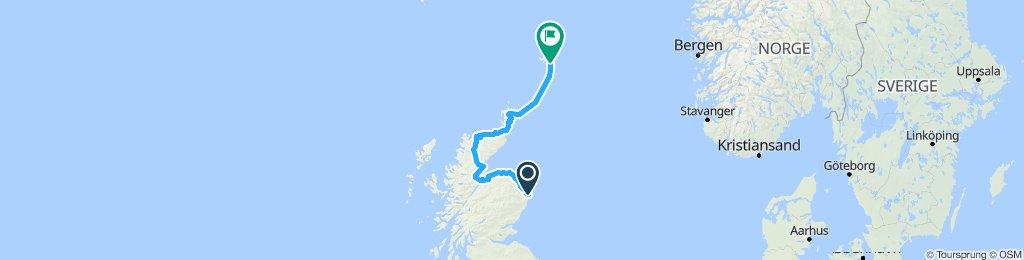 Eurovelo12/NCR1-Aberdeen to Lerwick
