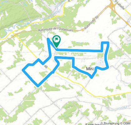 Mirabel 50 Km pour Jean