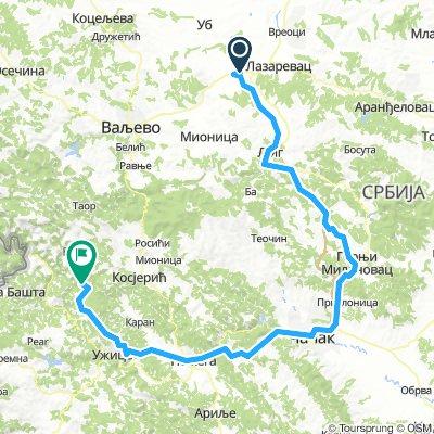 Europa Tour cz.2 6 Lajkovac - Crnyj wrh