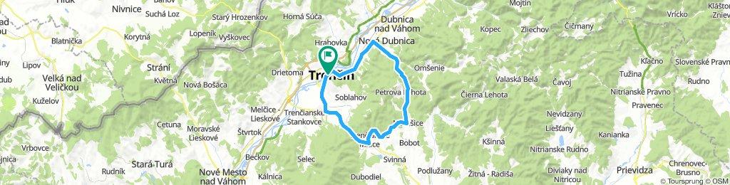 Trenčín - Motešice - Trenč.Teplice