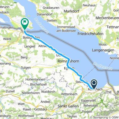 Bodensee-Radweg, Etappe 5