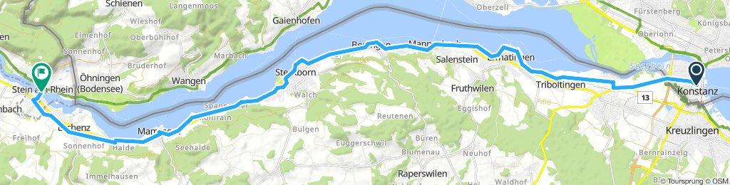 Bodensee-Radweg, Etappe 6