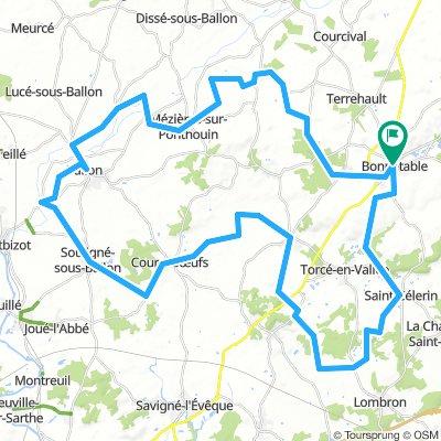 Bonnétable 68 km