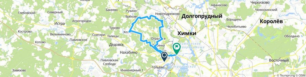 Кольцевой из Красногорск/Митино грунтами