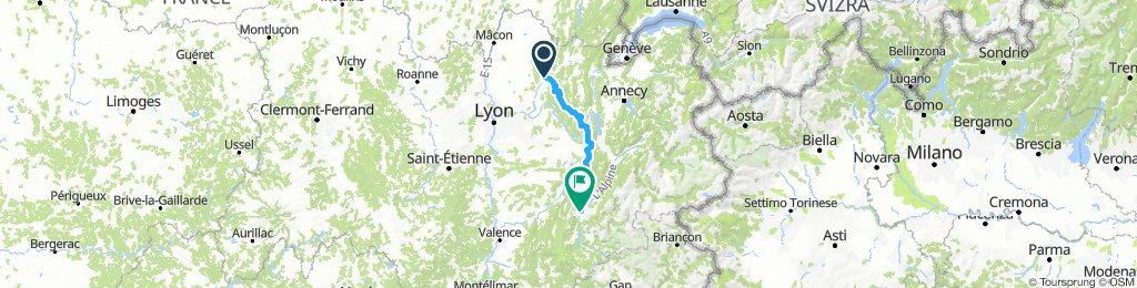 Pont d´Ain - Grenoble