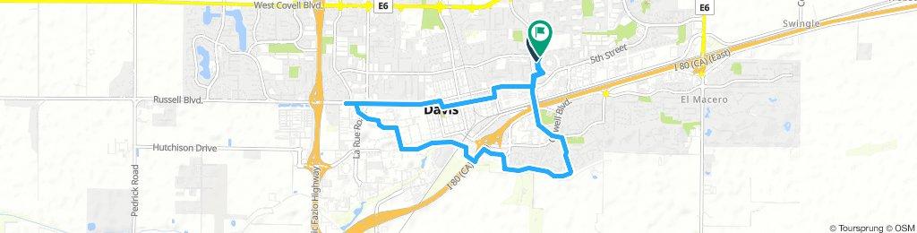 Lengthy Monday Track In Davis