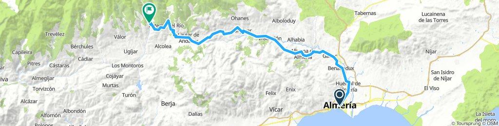 Almeria to Bayarcal