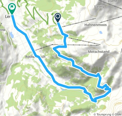 Bühlberg-Metsch-Nessli-Sibenbrunnen-Lenk
