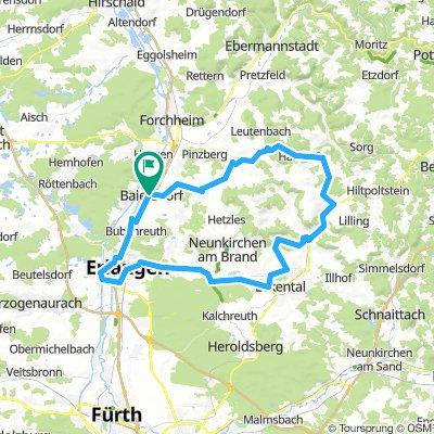 Von Erlangen nach Gräfenberg