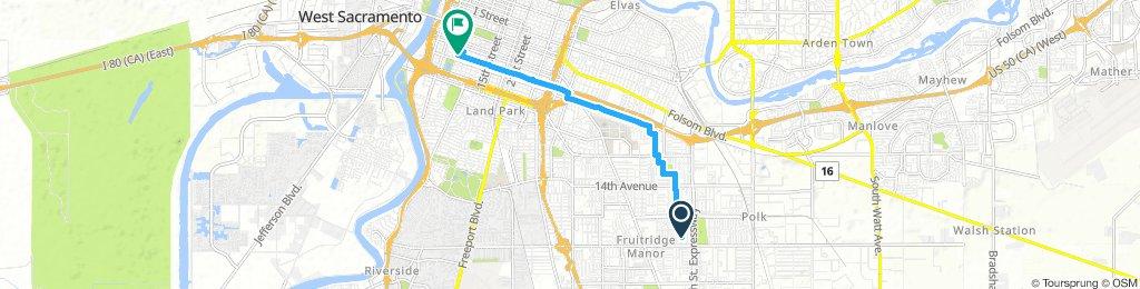 Long Tuesday Ride In Sacramento