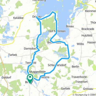 Radrunde Blunke 42km