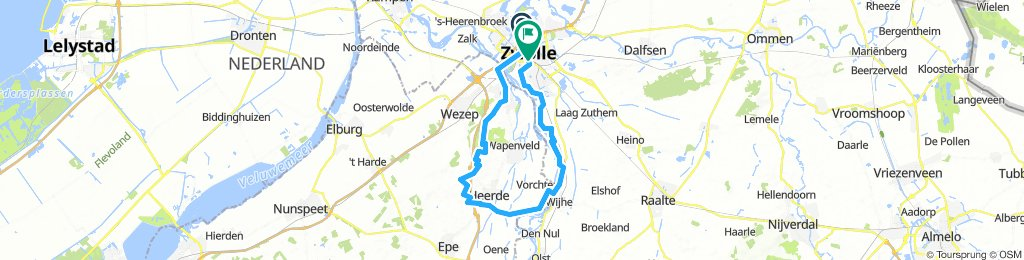 Zwolle to Wyhe
