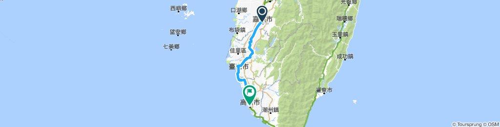 Cycling Taiwan Day 4 Jiayi - Gaoxiong