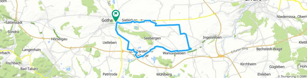 Moderate Mittwoch Route In Gotha