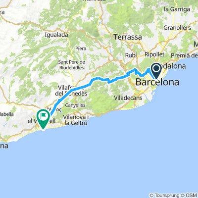 20180731 Casp-Tibidabo-L'Ordal-Sant Salvador