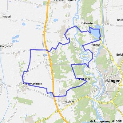 Grafschafter Fietsentour (GFT) Nr. 18
