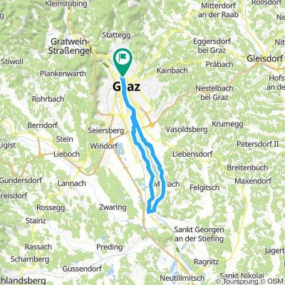 Wildon mit Hupfer über Murberg