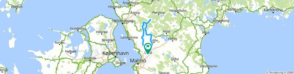 Lund-Ljungbyhed-Lund