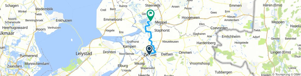 Zwolle to Hasselt
