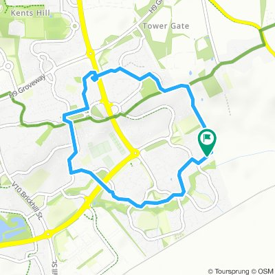 Short And Sweet Evening Ride In Milton Keynes m1