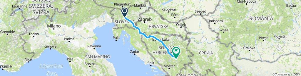 Ljubljana-Sarajevo