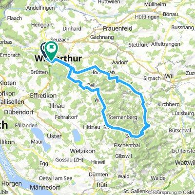 Winti - Hulftegg - Fischingen - Winti