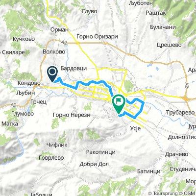 Relaxed Thursday Track In Skopje