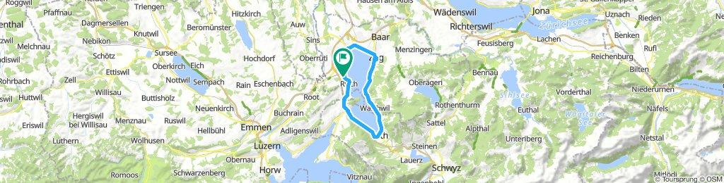 Giro del Lago di Zug (Svizzera)