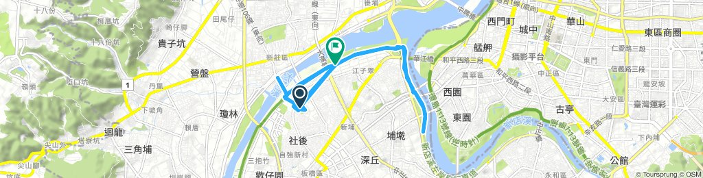 Long 星期四 Route In 新北市
