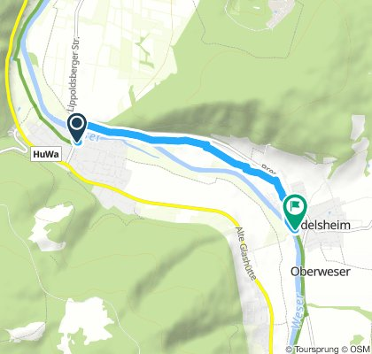 Giese-Werder nach Oedelsheimm(Gaststätte Fährhaus)