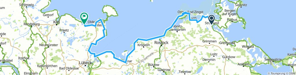Ostseeradweg Stralsund