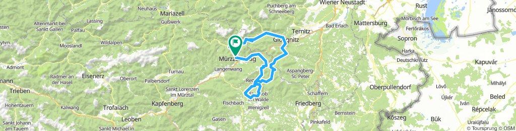 Murz - St.Jacob - Gloggnitz - Preiner Gschaid