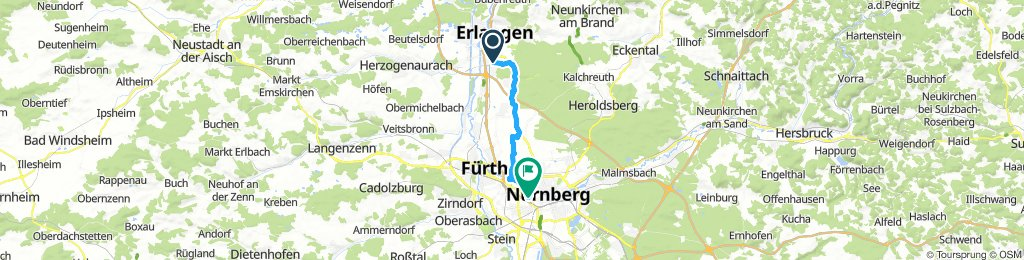 Moderate Early Morning Ride In Erlangen