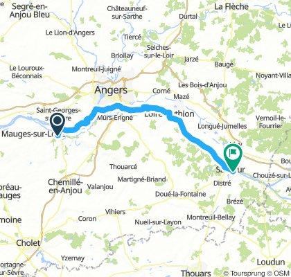 Chalonnes sur Loire - Saumur