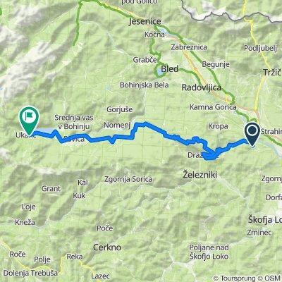 Besnica - Bohinj (čez Jelovico z gorskim kolesom)