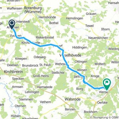 Fahrradwoche Jugendpflege Tour 3 nach Dorfmark 04.10.2018
