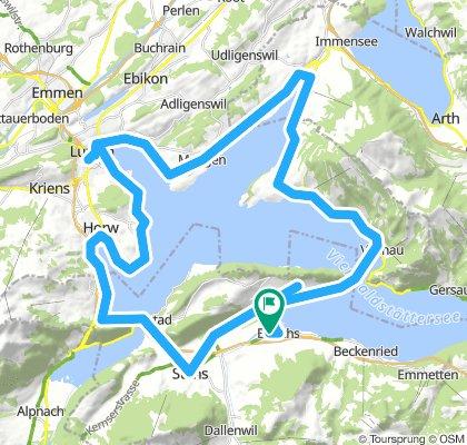18-08-01 Vierwaldstättersee und Luzern