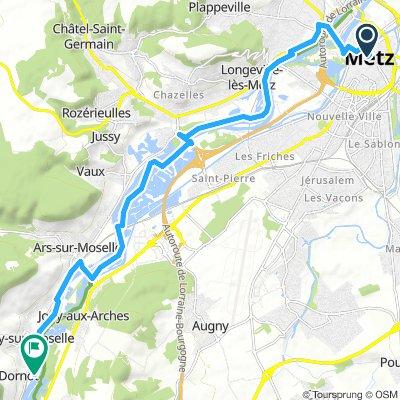 1 Metz - Domont