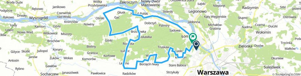 KPN - mała pętla przez Górki 120km