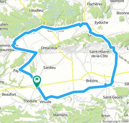 sortie 60 kms