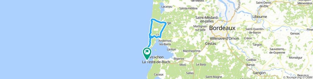 Tour Cap Ferret - Le Porge